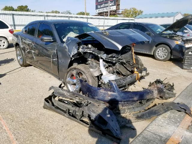 Salvage cars for sale from Copart Wichita, KS: 2012 Dodge Charger R