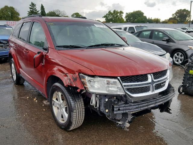 Salvage 2011 Dodge JOURNEY MA for sale