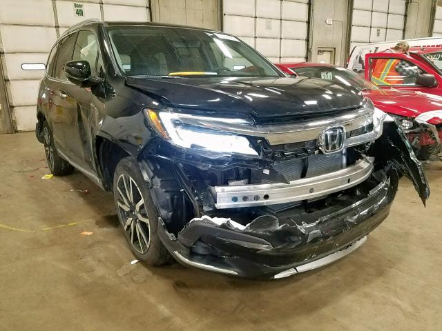 Salvage cars for sale from Copart Blaine, MN: 2019 Honda Pilot Touring