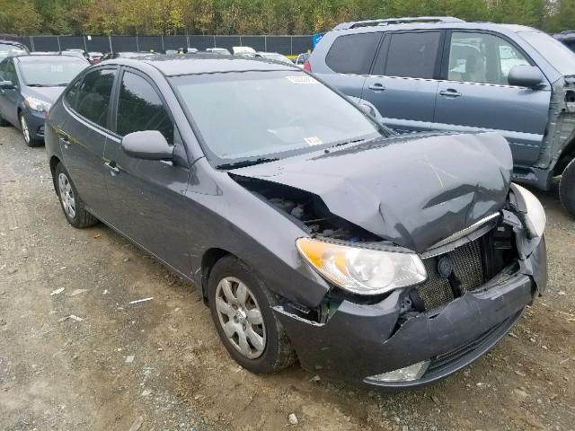 Salvage cars for sale from Copart Waldorf, MD: 2007 Hyundai Elantra GL