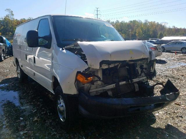 Salvage cars for sale from Copart Waldorf, MD: 2011 Ford Econoline