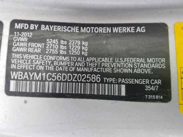 WBAYM1C56DDZ02586
