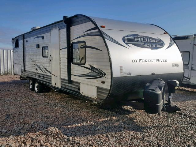 Salvage 2016 Forest River CRUISELITE for sale