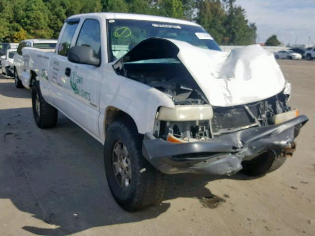 Salvage cars for sale from Copart Lumberton, NC: 2000 Chevrolet Silverado