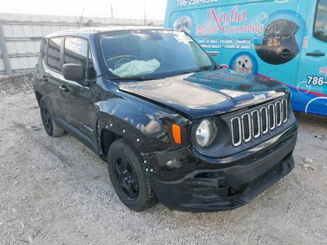 Salvage 2016 Jeep RENEGADE S for sale