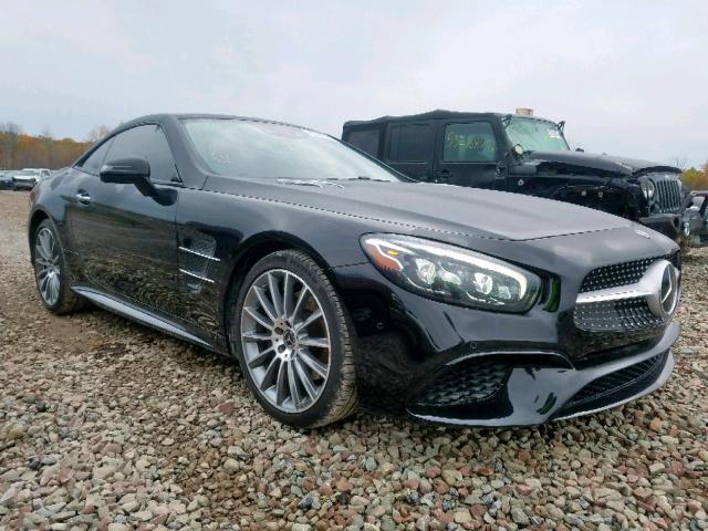 Salvage 2018 Mercedes-Benz SL 450 for sale