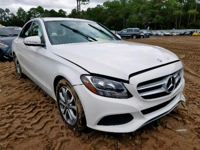 Salvage 2015 MERCEDES-BENZ C CLASS - Small image. Lot 32712601