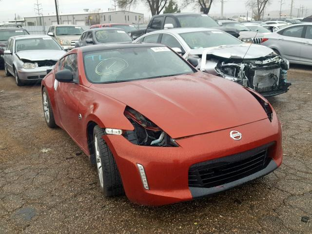 Salvage 2013 Nissan 370Z BASE for sale