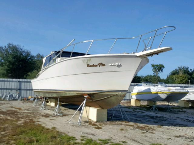 Salvage cars for sale from Copart Riverview, FL: 1987 Other Boat