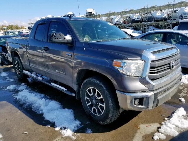 Toyota Tundra DOU salvage cars for sale: 2014 Toyota Tundra DOU