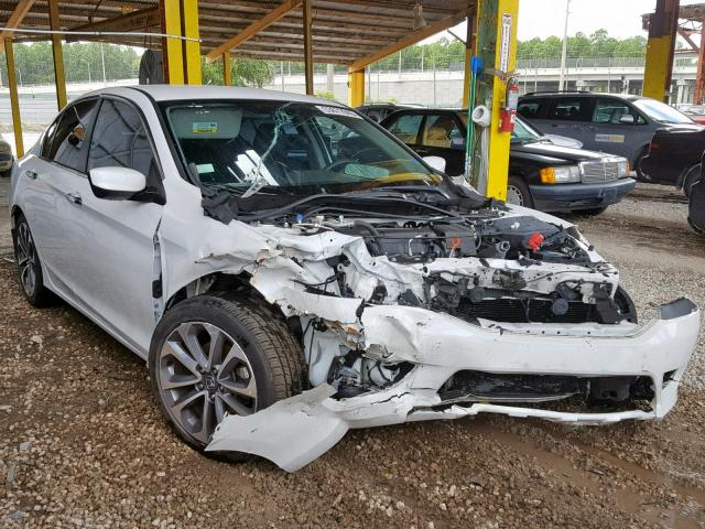 Salvage cars for sale from Copart Jacksonville, FL: 2015 Honda Accord Sport