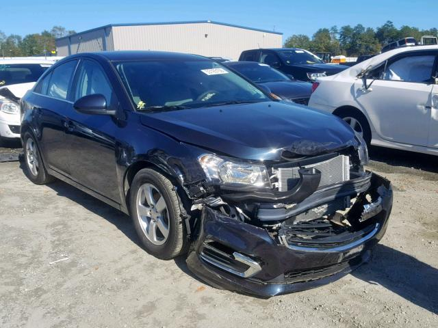 Salvage cars for sale from Copart Spartanburg, SC: 2015 Chevrolet Cruze LT
