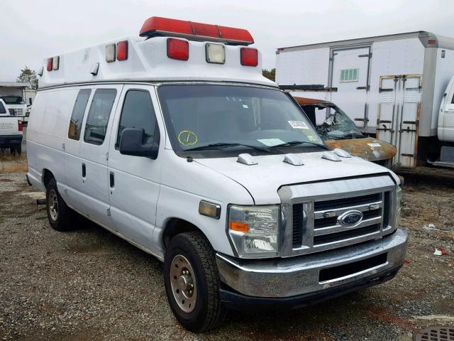 Salvage cars for sale from Copart Brookhaven, NY: 2008 Ford Econoline