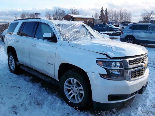 Chevrolet salvage cars for sale: 2019 Chevrolet Tahoe K150