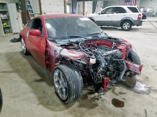 Nissan 350Z Coupe salvage cars for sale: 2003 Nissan 350Z Coupe