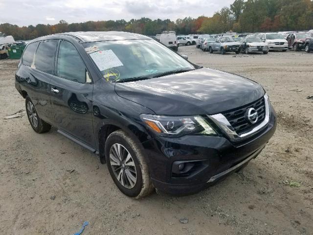 Vehiculos salvage en venta de Copart Glassboro, NJ: 2017 Nissan Pathfinder