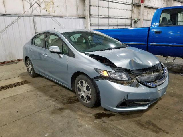 Salvage cars for sale from Copart Woodburn, OR: 2013 Honda Civic Hybrid