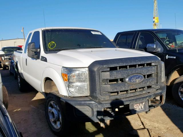 Salvage cars for sale from Copart Casper, WY: 2013 Ford F250 Super