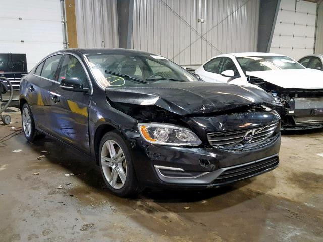 Salvage cars for sale from Copart West Mifflin, PA: 2014 Volvo S60 T5