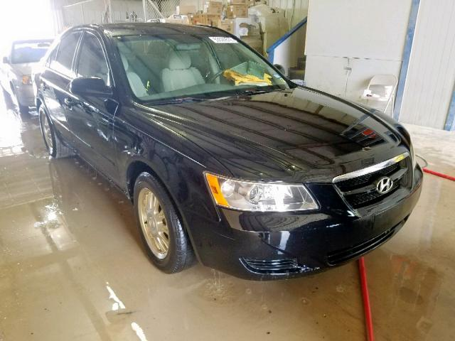 Hyundai salvage cars for sale: 2007 Hyundai Sonata GLS