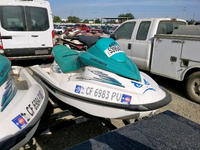 Seadoo salvage cars for sale: 2001 Seadoo GTI