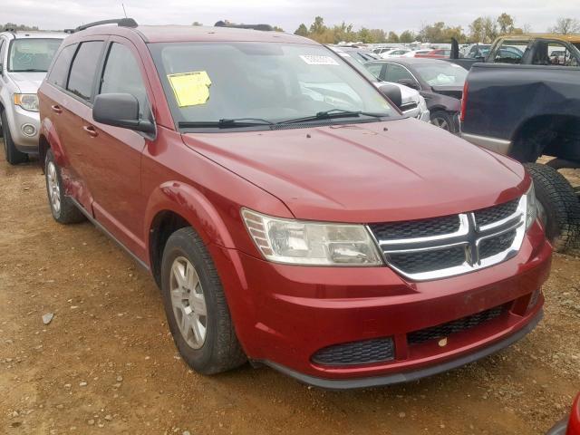 Salvage 2011 Dodge JOURNEY EX for sale