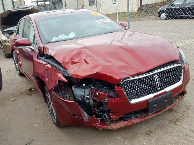 Salvage 2018 Lincoln MKZ RESERV for sale