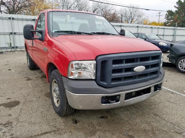 Salvage 2007 Ford F250 SUPER for sale