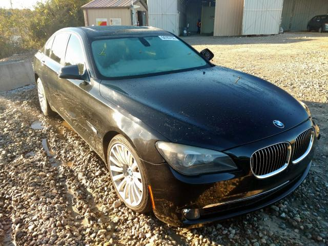 Salvage 2012 BMW 750 I for sale