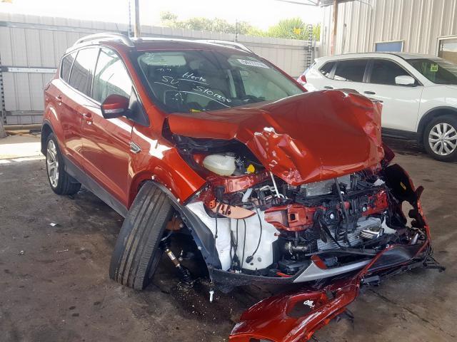 Salvage 2019 Ford ESCAPE TITANIUM for sale