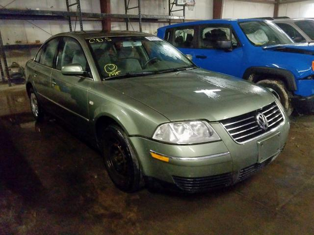 click here to view 2003 VOLKSWAGEN PASSAT GL at IBIDSAFELY