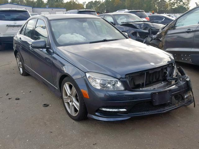 Salvage cars for sale from Copart Dunn, NC: 2011 Mercedes-Benz C300