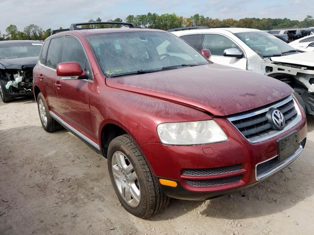 Salvage cars for sale from Copart Houston, TX: 2005 Volkswagen Touareg 4