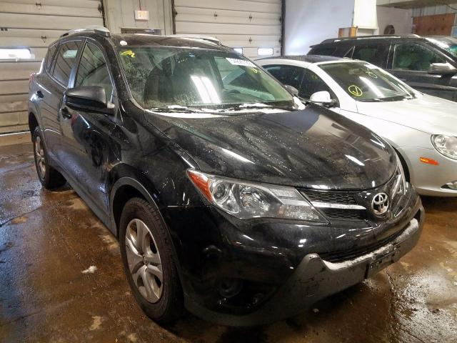 Salvage cars for sale from Copart Cudahy, WI: 2013 Toyota Rav4 LE