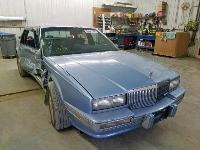 Salvage 1990 Cadillac SEVILLE for sale