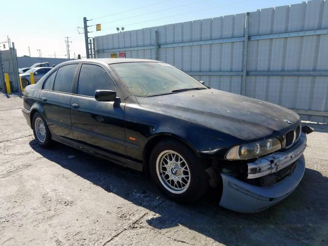 Salvage cars for sale from Copart Wilmington, CA: 2000 BMW 528 I Automatic