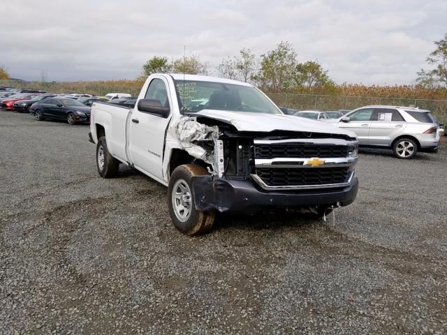 Salvage 2018 Chevrolet SILVERADO for sale