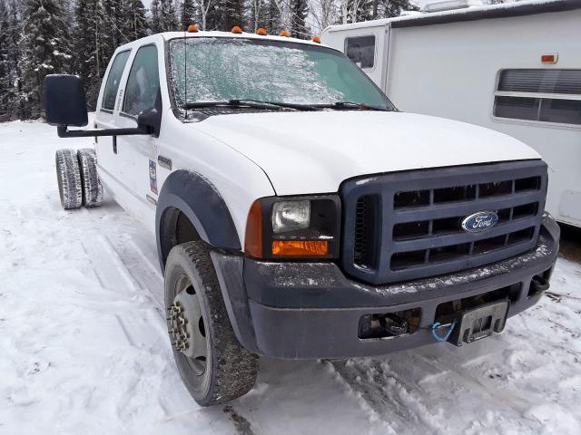 Salvage 2006 Ford F550 SUPER for sale