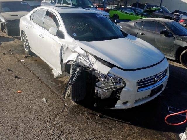 Salvage cars for sale from Copart Anthony, TX: 2013 Nissan Maxima S