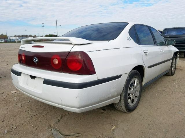 2G1WF52E4Y9281339 - 2000 Chevrolet Impala 3.4L rear view