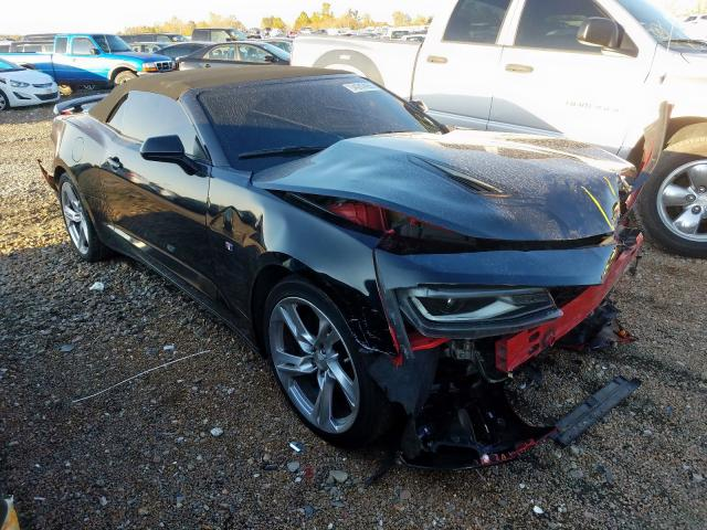 Salvage cars for sale from Copart Bridgeton, MO: 2017 Chevrolet Camaro SS