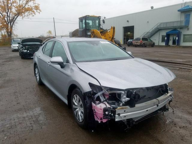Salvage cars for sale from Copart Montreal Est, QC: 2019 Toyota Camry L