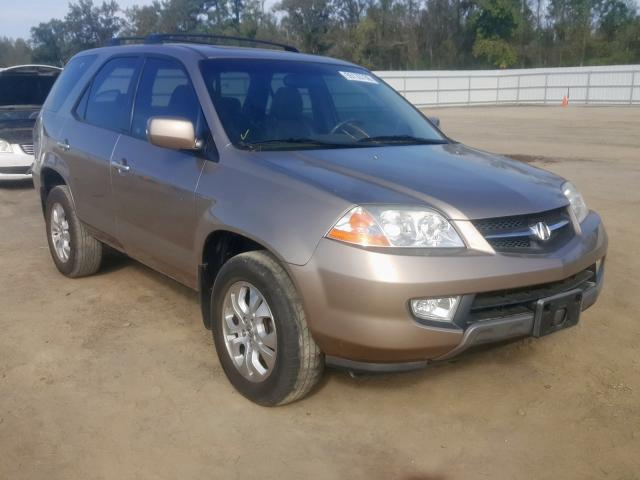 Salvage 2003 Acura MDX TOURING for sale