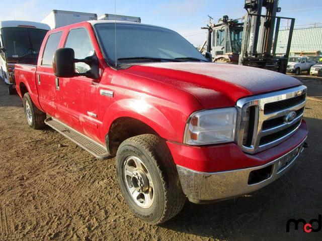 Ford F250 Super salvage cars for sale: 2005 Ford F250 Super