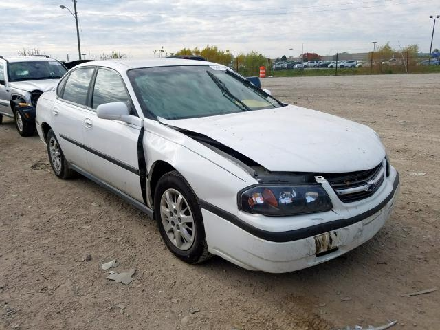 2G1WF52E4Y9281339 - 2000 Chevrolet Impala 3.4L Left View