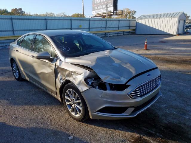 2017 Ford Fusion SE for sale in Wichita, KS