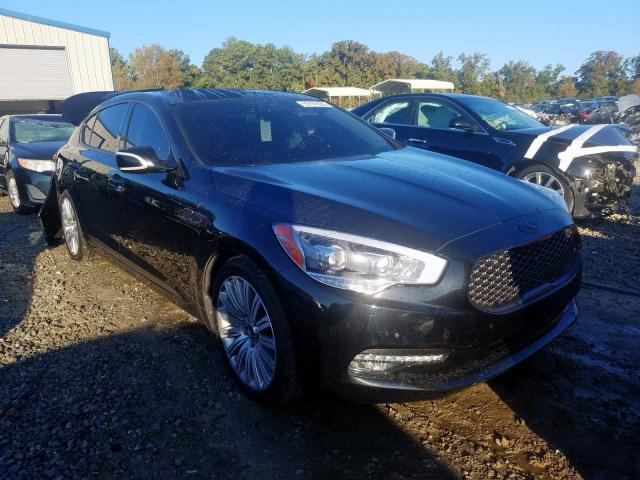 KIA K900 salvage cars for sale: 2015 KIA K900