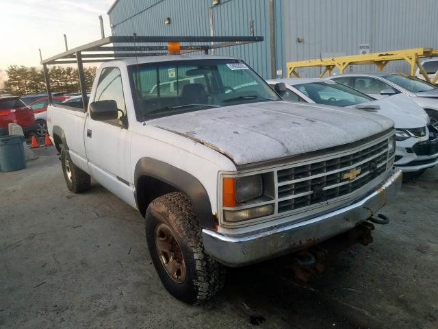 Chevrolet GMT-400 K2 salvage cars for sale: 1993 Chevrolet GMT-400 K2