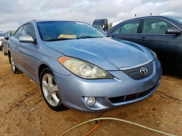Salvage cars for sale from Copart San Antonio, TX: 2005 Toyota Camry Sola