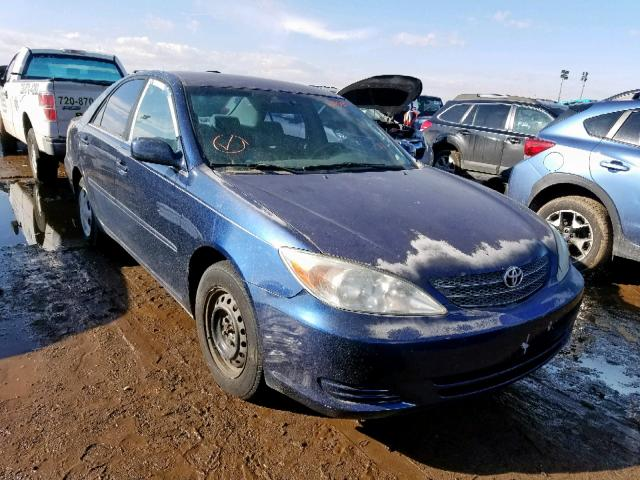 2002 Toyota Camry For Sale >> 2002 Toyota Camry Le 2 4l 4 For Sale In Brighton Co Lot 55019459